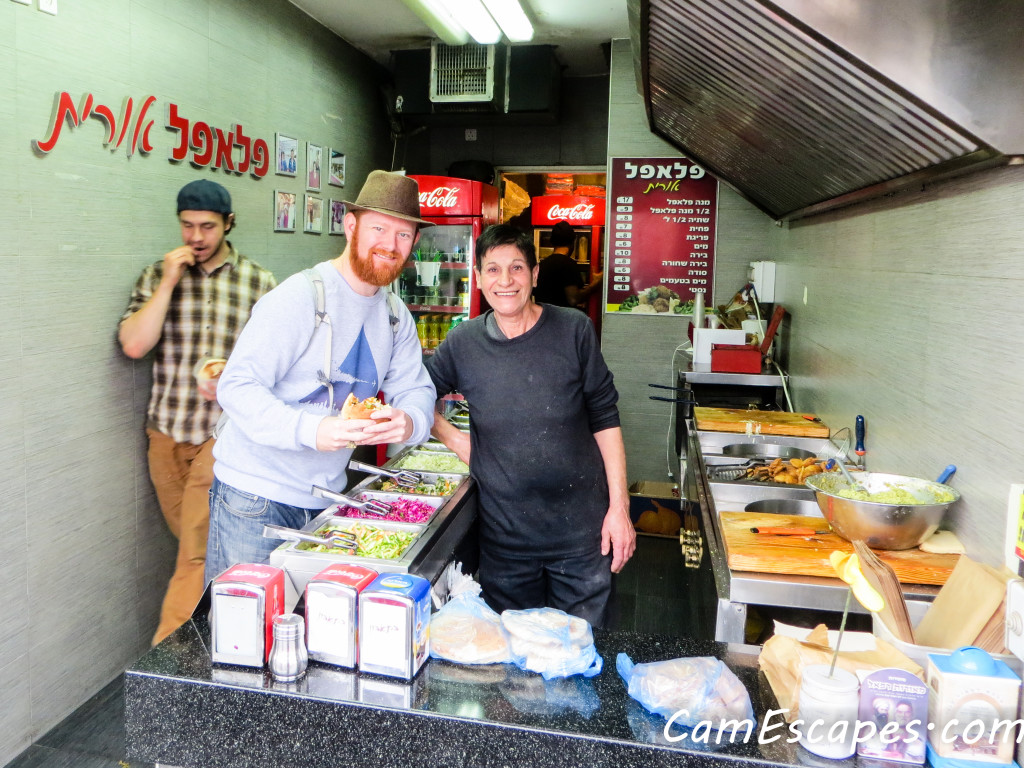 The Best in Tiberias: Falafel Orit