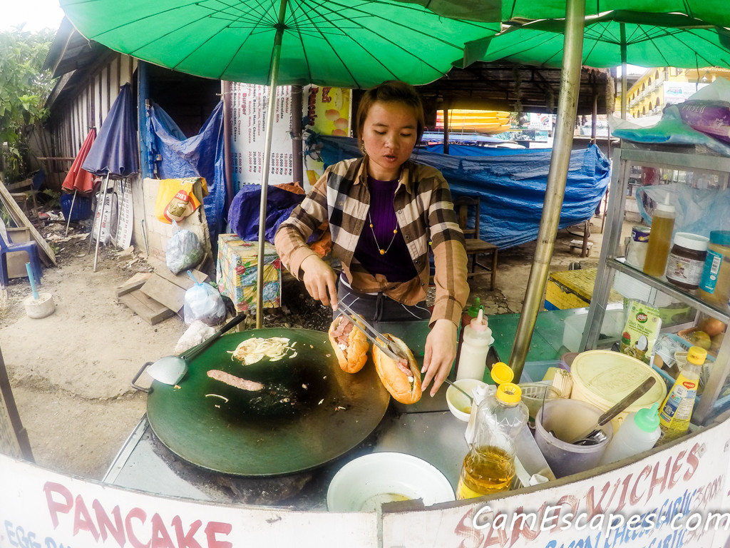Street Food and Local Dishes in Laos