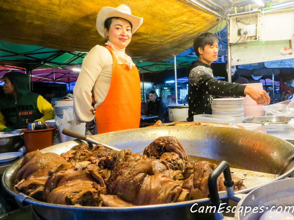 Pork Leg Made Famous by Cowgirl in Chiang Mai